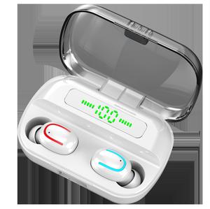 Q82 TWS Wireless Bt5.0 3500mAh Earphone LED Handfree Music Stereo Headsets Earbud Earphone with MIC Charging Cas