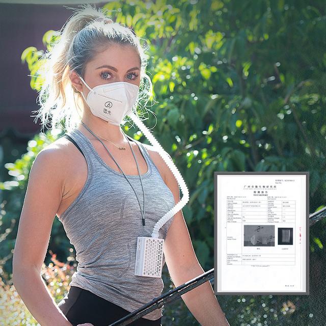 Mask Powered Air Purifying Respirator Reusable Mask Air Purifier with H13 hepa filter