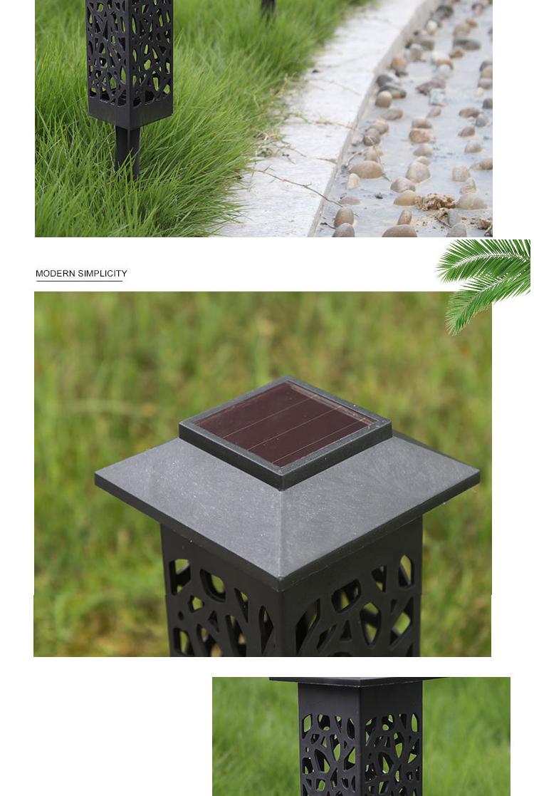 Lampu Taman Luar Ruangan Tahan Air Vintage Taman Halaman Dekorasi Pinggir Jalan Lampu Rumput Surya Berongga Buy Lampu Surya Untuk Rumput Solar Lampu Taman Lampu Taman Tenaga Surya Outdoor Product On Alibaba Com