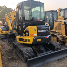 Venda de mini escavadora usada <span class=keywords><strong>japão</strong></span> komatsu pc55 mr 5ton