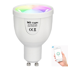 Hot Jual Dimmable <span class=keywords><strong>Wifi</strong></span> LED Bulb GU10 Smart Bulb