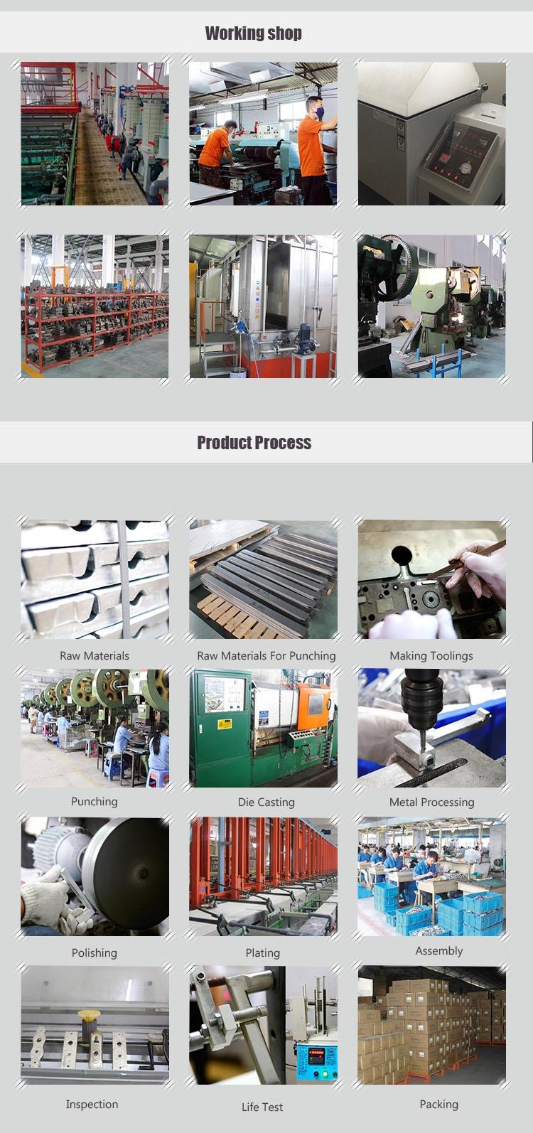 Proveedor de la fábrica de alta calidad de latón cerradura de la puerta cerradura de cilindro
