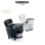 Movable type meeting office writing table training chair with Storage space