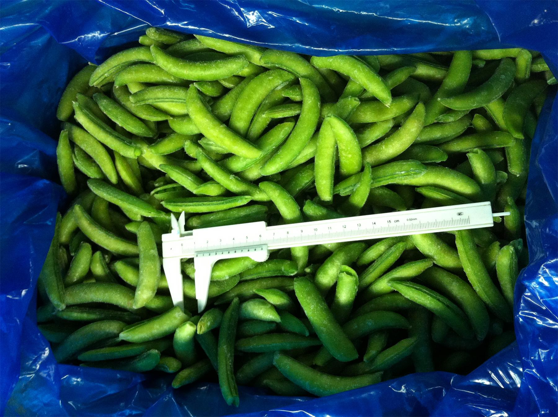 iqf sugar snap pea from china
