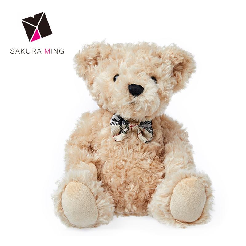 Regalo di modo Della Peluche Teddy Bear pinkStuffed Orso di Orsacchiotto Seduto Orso Giocattolo