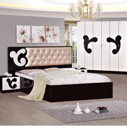 현대 럭셔리 침대 침실 가구 킹 사이즈 침실 세트 저렴한