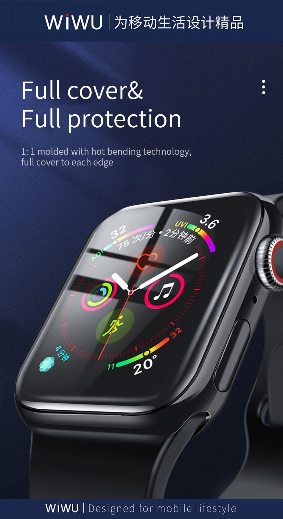 WiWU 苹果手表全覆盖钢化膜 (https://www.wiwu.net.cn/) iWatch 壳 膜 第4张