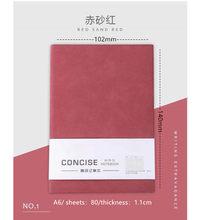 А6 карманный блокнот из имитации овечьей кожи 80 дневник планировщик дневник повестки дня 2020 записная книжка для офиса школьные принадлежно...(Китай)