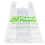 Eco-friendly compostable packaging bags shopping bag  biopoly