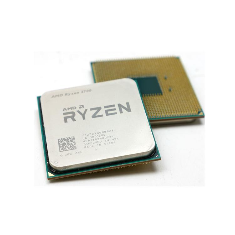 원래 Ryzen R3 R5 R7 2600 3.4 GHz 식스 코어 열두 코어 65W CPU 프로세서 쿨러 팬