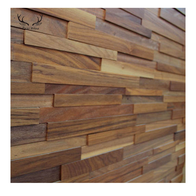 Heat Insulation Function And House Decoration 7d Wall Brick Wood