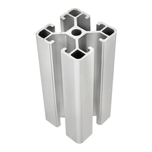 Installations industrielles Argent Anodisé <span class=keywords><strong>En</strong></span> <span class=keywords><strong>Aluminium</strong></span> Profil <span class=keywords><strong>En</strong></span> <span class=keywords><strong>Aluminium</strong></span> Extrusion Profil 4040 <span class=keywords><strong>En</strong></span> <span class=keywords><strong>Aluminium</strong></span>