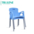 Long lifetime outdoor waterproof foldable wedding church activity meeting office chair HDPE plastic folding chairs