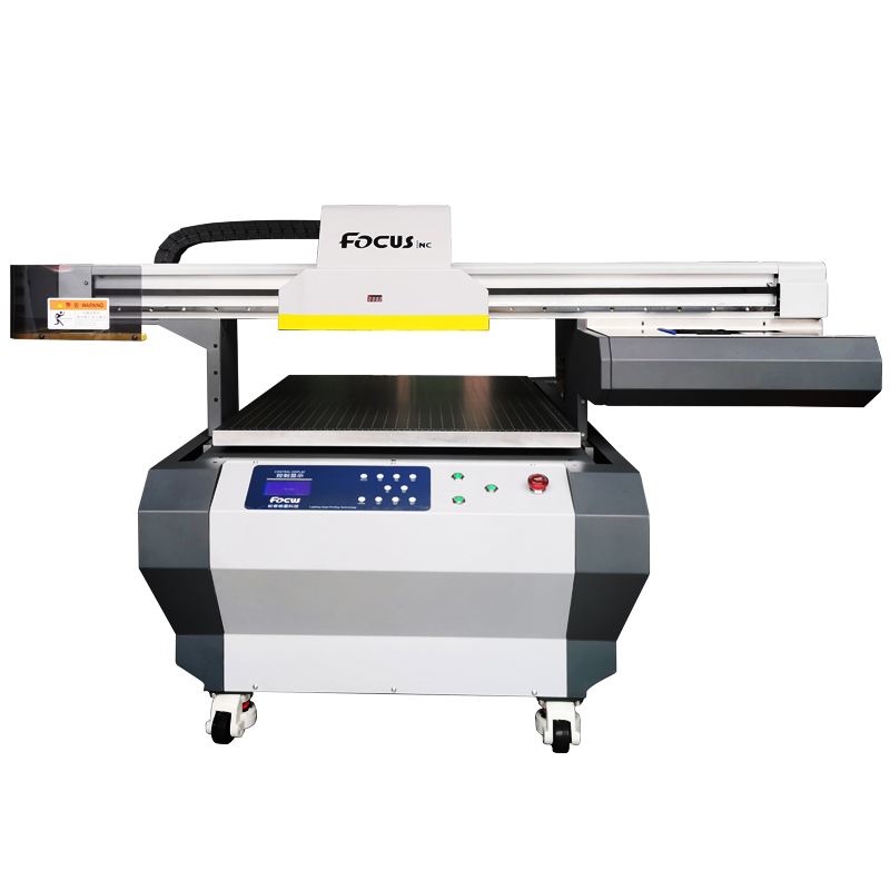 Industriële Flatbed Cilinder UV Lak Printer