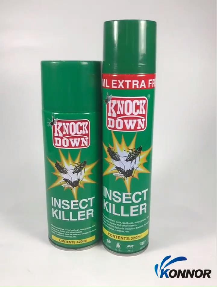 High Quality Insecticide Spray Aerosol Bed Bug Pest Control Killer Spray