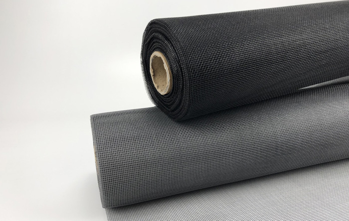 1.6m x 50m PVC Coated fiberglass insect mesh