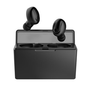 Portable Handsfree Fitness Waterproof Earbuds Bluetooth Earphones Gaming Headsets with Charge Case Wireless Headphones