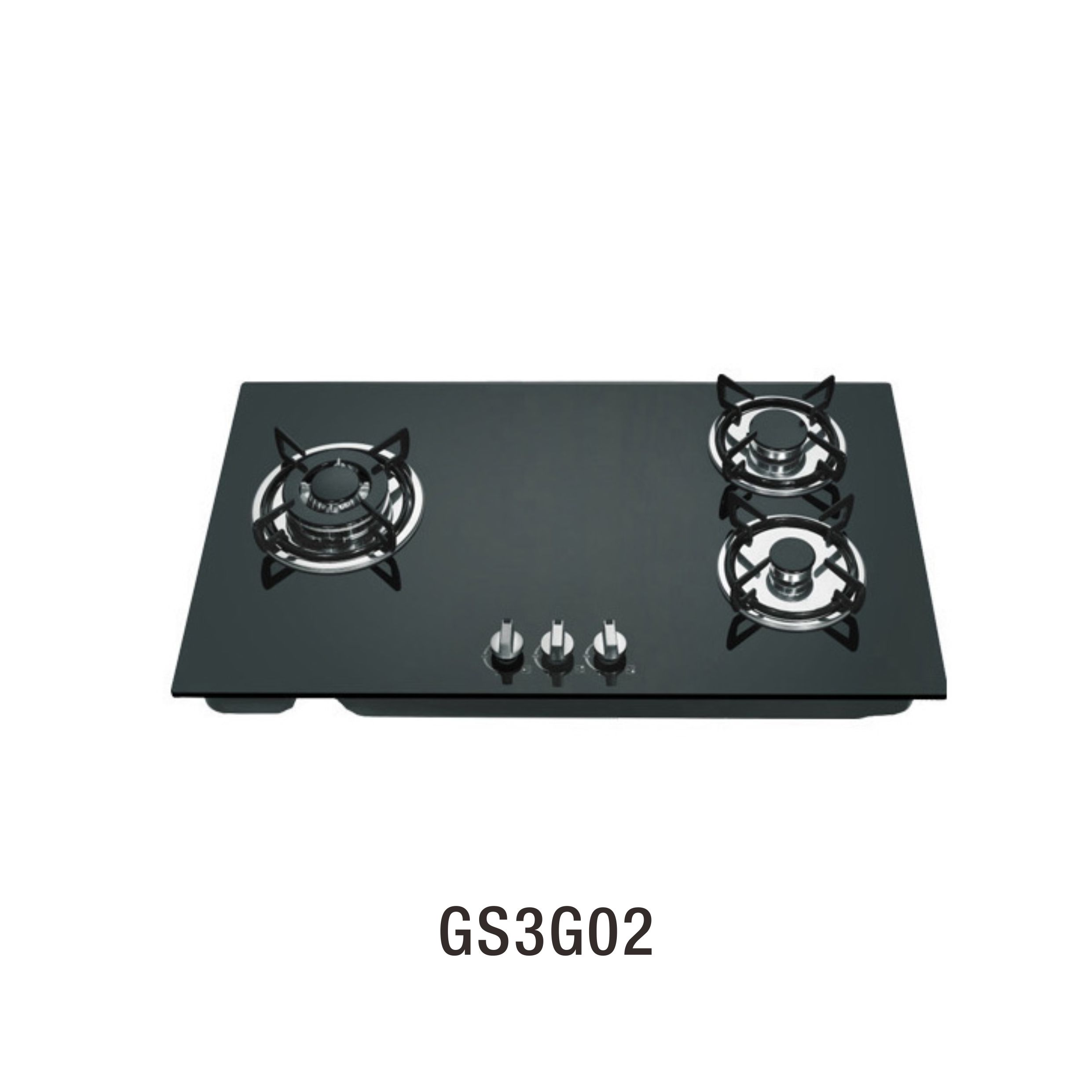 High Quality 3 burner glass top cooking stove cooker gas with flame out safety device