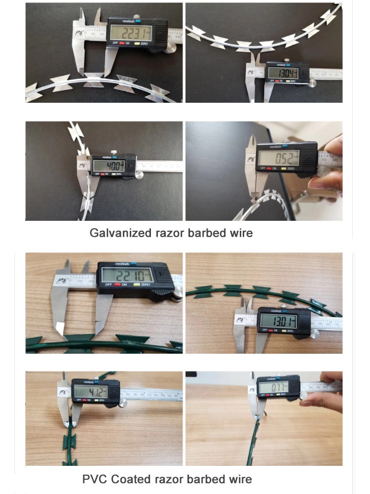 welded barbed razor wire mesh