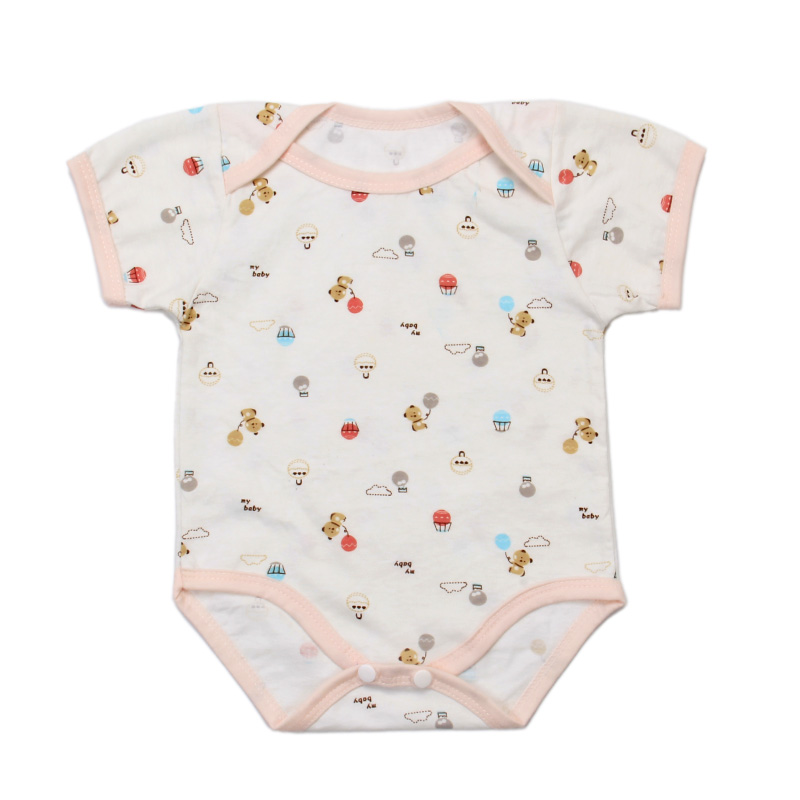 High-quality baby cotton crawling suit button-down neonatal Jumpsuit