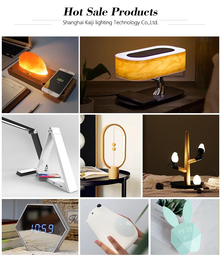 Creatieve Hout Hengpro Balans Lamp Led Bureau Gift Magnetische Bedlampje Voor Home Decoratie
