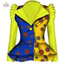 Женский блейзер в стиле Дашики Анкары, модный блейзер из 100% хлопка с вощеным принтом, WY1870(Китай)