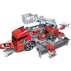Educational Deformation Fire Truck Kids Rescue Learning Toys Car