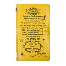 DIY Travel Planner Notebook A6 Journal, журнал органайзера, записная книжка из искусственной кожи, 2020, 2021, креативный подарок, крафт-бумага(Китай)