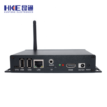 Popular wireless video advertising android smart digital signage network media player