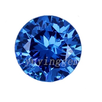 Mexican D Block Blue Loose Synthetic Tanzanite Gemstones