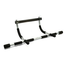 Home gym fitness hause übung doorway pull up bar