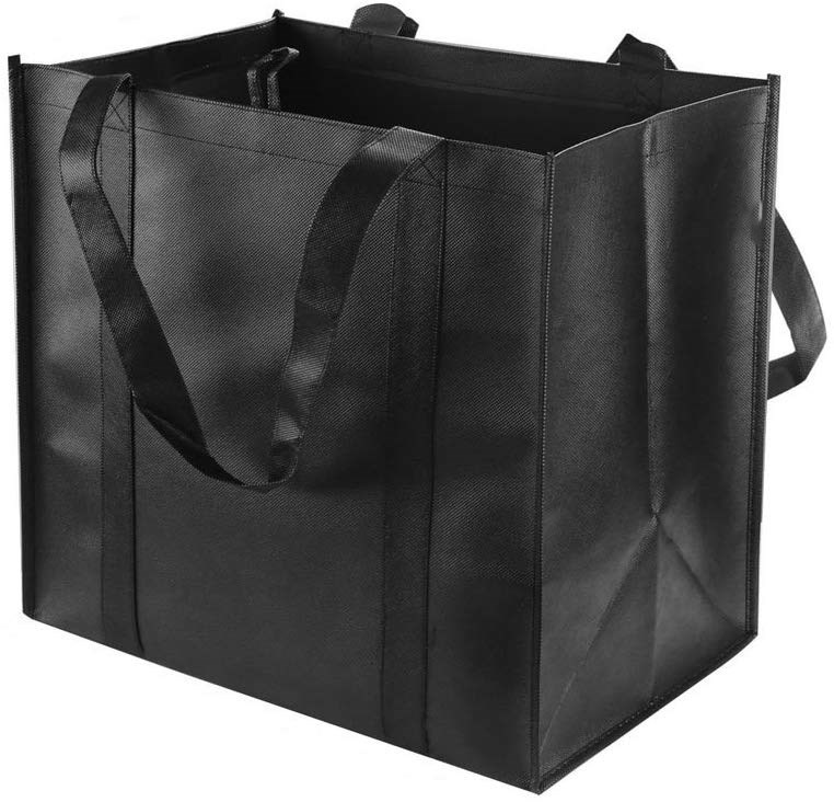 Durable Heavy Duty Shopping <strong>Totes</strong> - Grocery Bag with Reinforced Handles