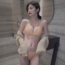 Женское нижнее белье, комплект нижнего белья с эффектом пуш-ап и трусиками(Китай)