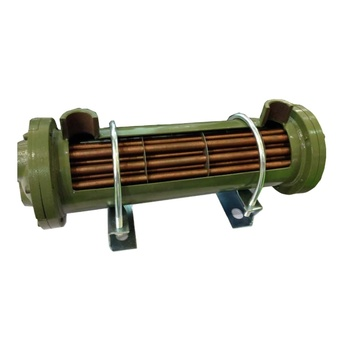 LandSky Machinery Manufacturing low price carbon steel brass air blast oil cooler / Cooled tube heat exchanger GLL6-80