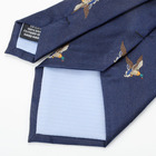 Hot sale wholesale new logo design silk necktie mens ties
