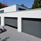 9*7 Feet Energy Efficient Industrial Sectional Horizontal sliding Garage door