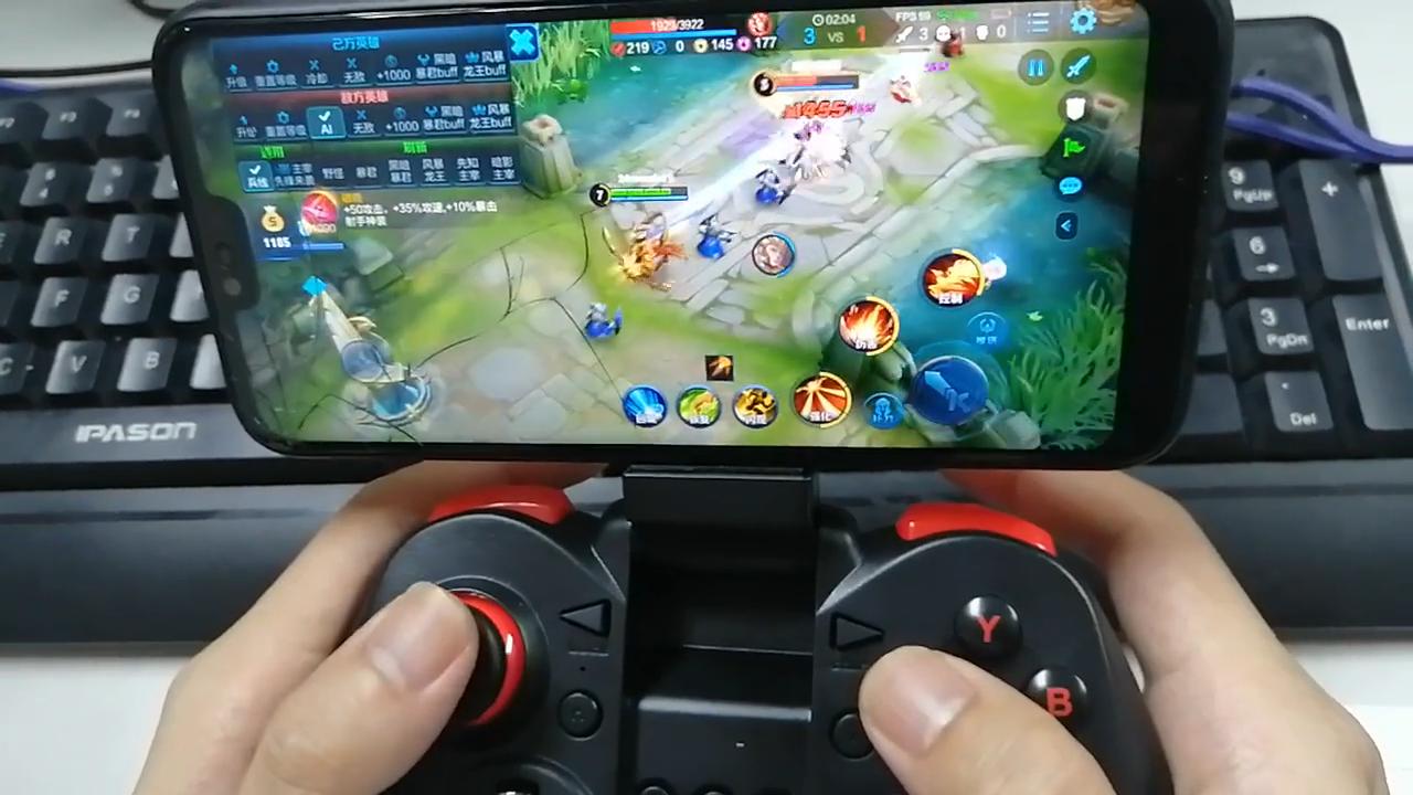 مصنع الجملة X5 زائد لوحة ألعاب لاسلكية لعبة الفرح الوسادة عصا التحكم & أذرع التحكم في ألعاب الفيديو ل نظام الروبوت و IOS