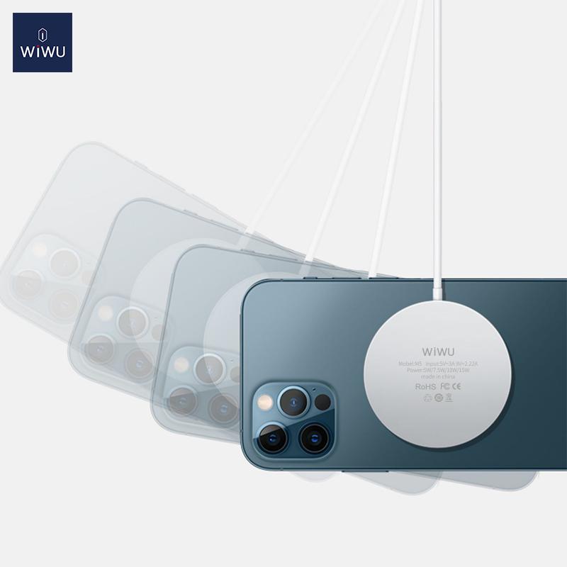 WiWU iPhone12磁吸附 无线充 (https://www.wiwu.net.cn/) 无线充电器 第6张
