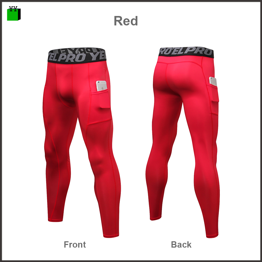 Atmungsaktive leggings custom design anti cellulite yoga hosen kompression sport workout fitness gym nahtlose herren tasche leggings
