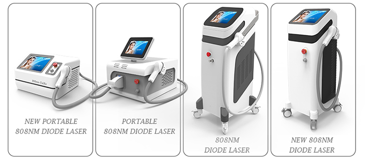 300w Best sale painless portable hair removal diode laser device for salon use