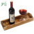 Wholesale 16 Inch Rustic Burnt Wood Rectangular Serving Tray With Handles