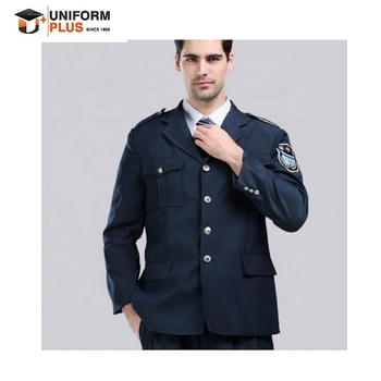 security   guards navy suits ceremonial uniform and accessories