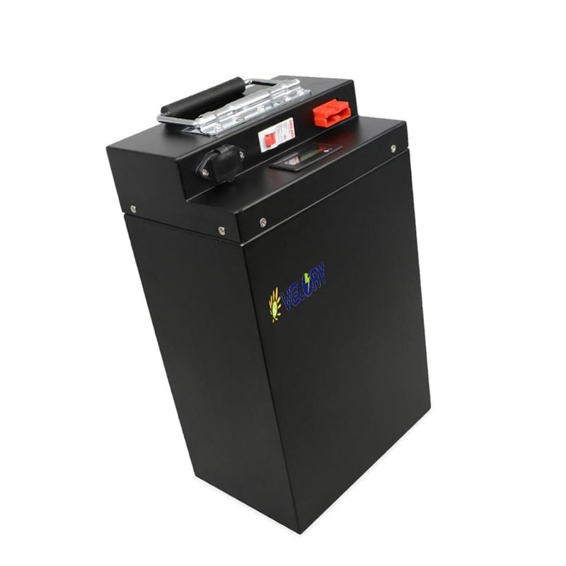 Intelligent charge system lithium ion battery 48v 50ah