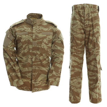 Camo tiger stripe camouflage BDU cheap ACU uniforms military uniforms uniforme militar army combat army military uniform