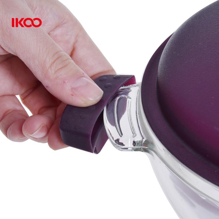 Микроволновая безопасная кухонная посуда стеклянная чаша со стеклянной крышкой