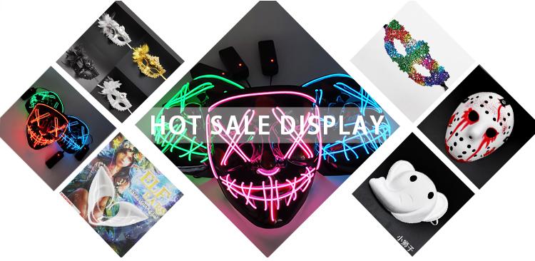 สไตล์ใหม่ขอบลูกไม้ SEXY Charm พราว Half Face หน้ากากริบบิ้น Performance Performance Carnival Masquerade Lace Mask