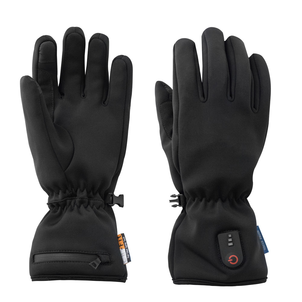 Perfect outdoor sport Men and Women Mitten design Rechargeable Battery remote Thermal Heated Gloves