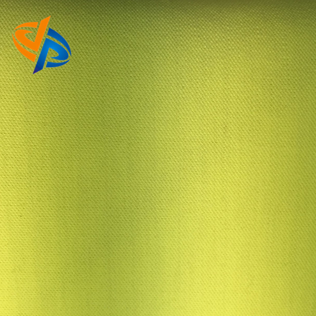 en20471 fluorescent yellow Modacrylic Protex M Cotton Antistatic pique knitting fabric