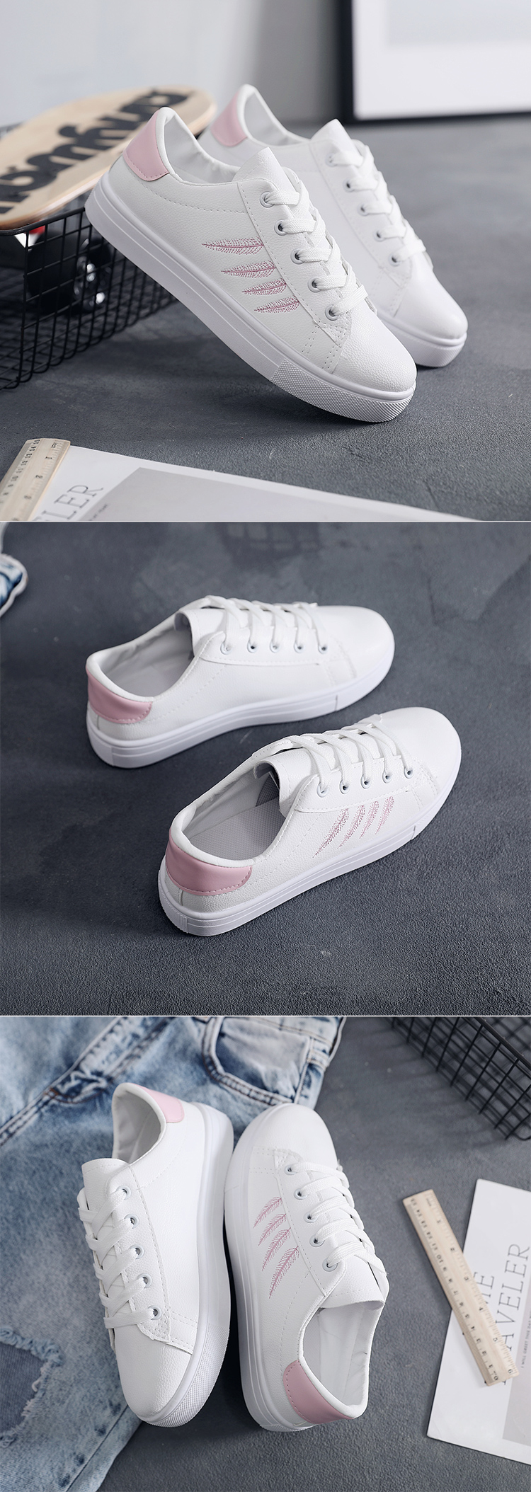2019 Wholesale women flat ladys loafers leather ladies shoes