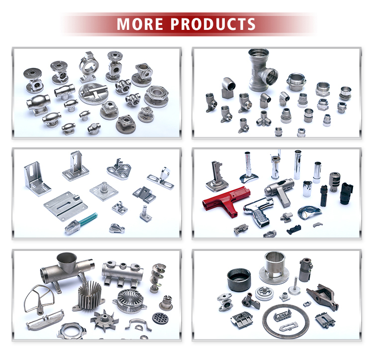 Customized stainless steel fitting parts mould for investment cast